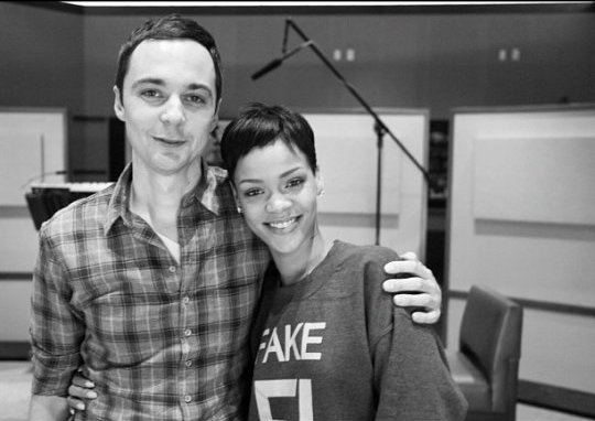 Rihanna and Jim Pearsons