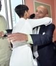 Rihanna and grandfather lionel