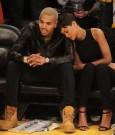Rihanna chris brown lakers game 6
