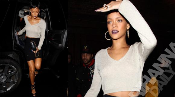 Rihanna clubbing