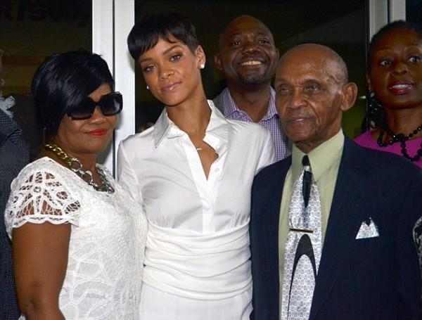 Rihanna family