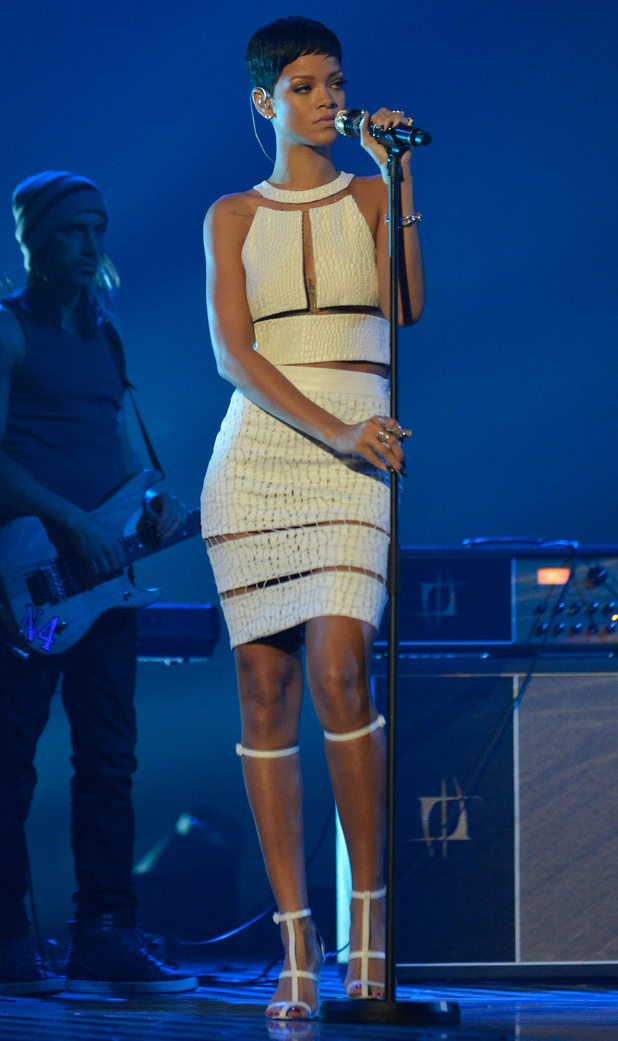 Rihanna x factor uk