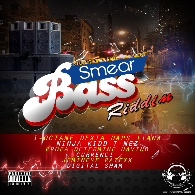 SMEAR BASS RIDDIM artwork