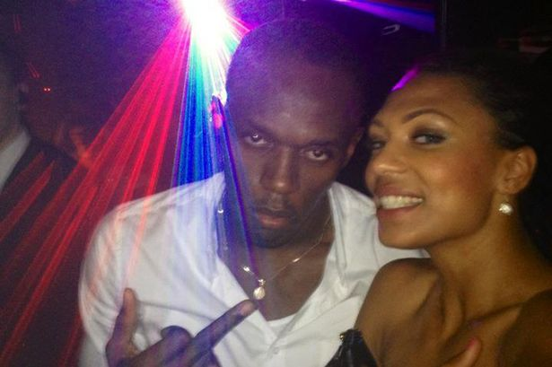 Usain Bolt and Megan Edwards split