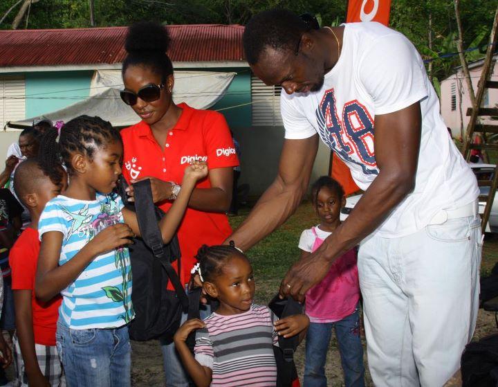 Usain Bolt charity event