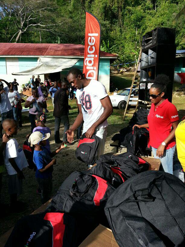 Usain Bolt xmas charity