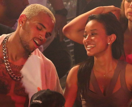Chris Brown Karrueche Tran 2013 pic