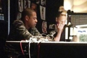 Jay-Z And Beyonce Work Their Magic In The Studio [Photo]