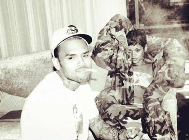 rihanna and chris brown smoke