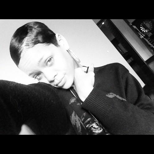 rihanna short hair 5