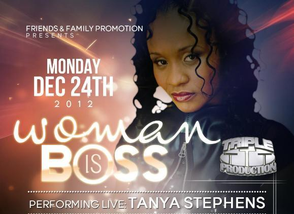 Tanya Stephens Live In Concert Christmas Eve, Brooklyn, NY