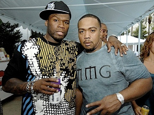 50 cent and Timbaland pic