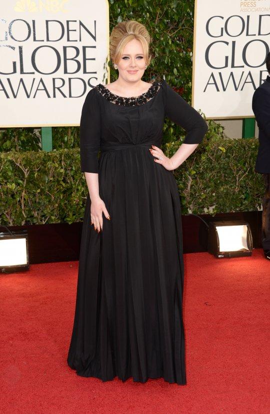 Adele Golden Globe 2013