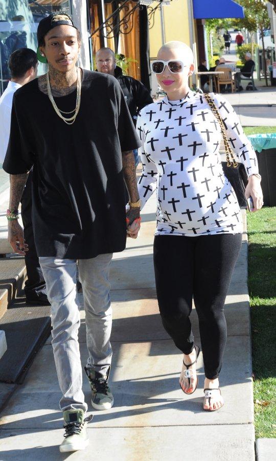 Amber Rose and Wiz Khalifa 1232013 1