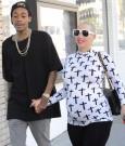 Amber Rose and Wiz Khalifa 1232013