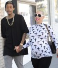 Amber Rose and Wiz Khalifa 1232013