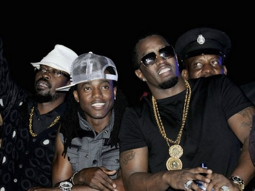 Beenie Kiprich and Diddy