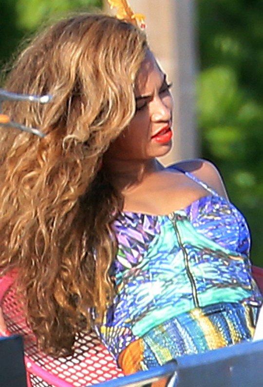 Beyonce bahamas