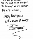 Beyonce happy new year