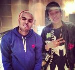 Chris Brown and Wiz Khalifa