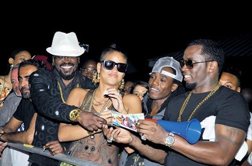 Diddy Cassie Beenie Man Jamaica