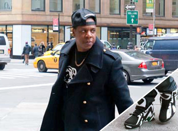 Jay-Z Rock Em Snapback And Reebok In New York [PHOTO]