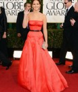 Jennifer Lawrence golden globe 2013