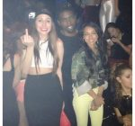 Karrueche Tran rolling out party