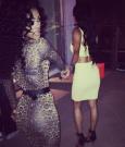 Karrueche and Teyana Taylor