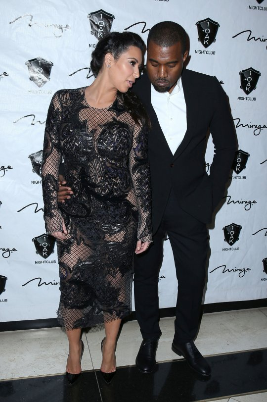 Kim and Kanye pregnant