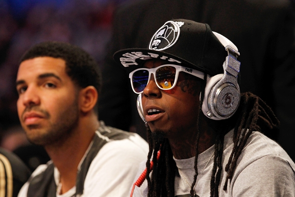 Lil Wayne and Drake 2013 pic