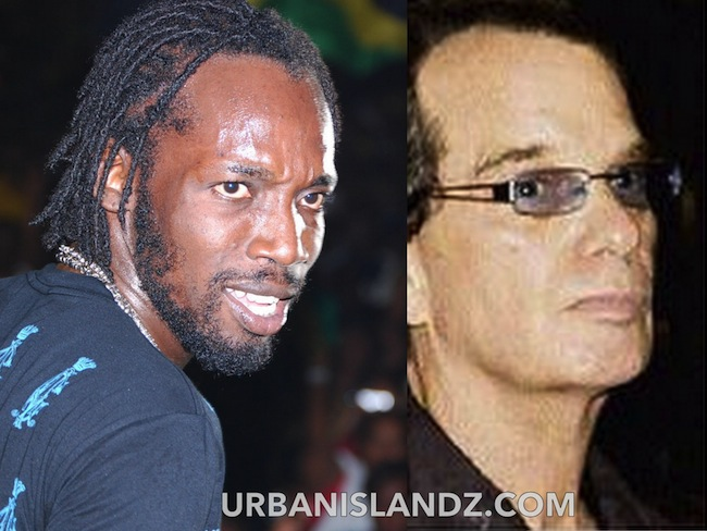 Mavado and Joe Bogdanovich