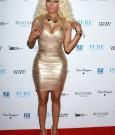 Nicki Minaj Gold Dress 4