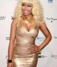 Nicki Minaj Gold Dress 6