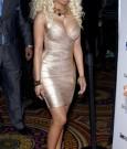 Nicki Minaj Gold Dress 7