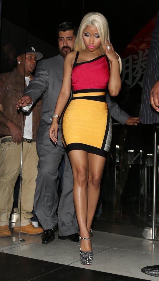 Nicki Minaj mystery man