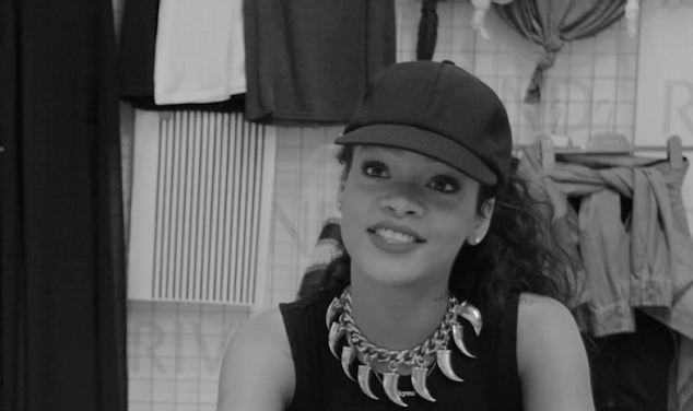 Rihanna Takes Us Behind The Scenes Her River Island Collection [PHOTO]