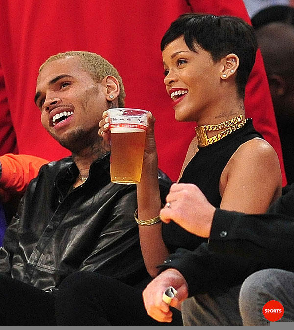 Rihanna and Chris Brown 13