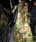 Rihanna camouflage