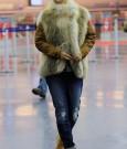 Rihanna fur fashion