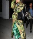 Rihanna hit studio