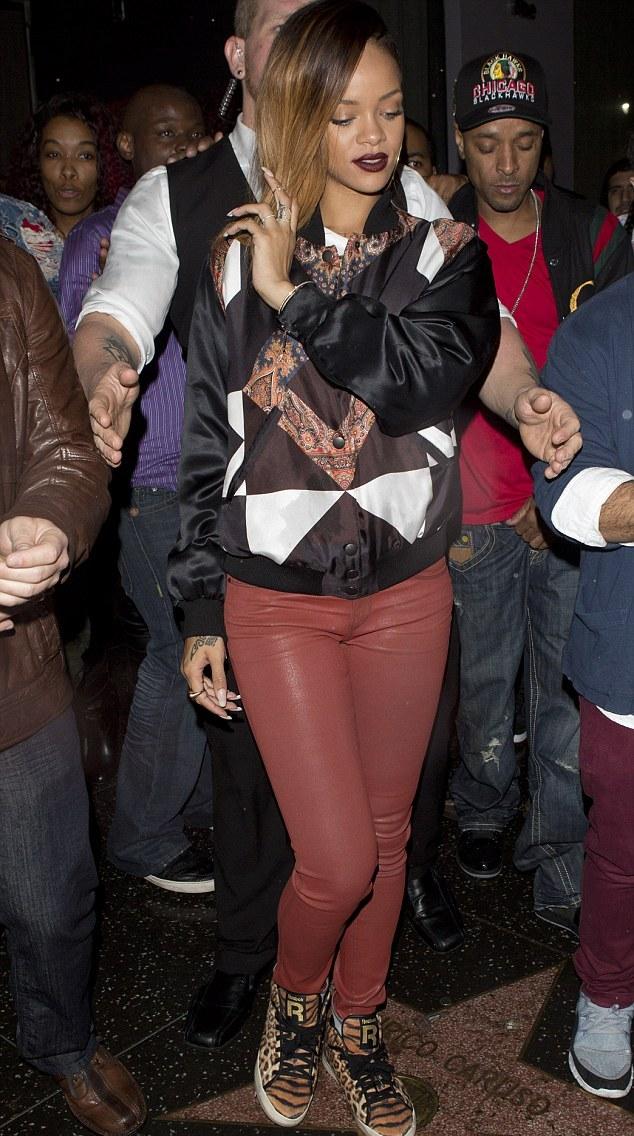 Rihanna ny club