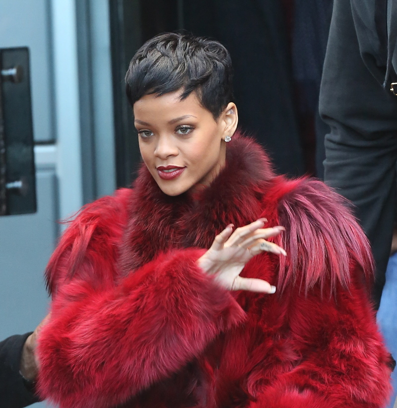 A New Year And New Hairstyle For Rihanna Photo