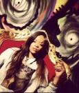 Rihanna smoking blunt 2013