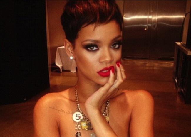 Rihanna top secret campaign 2013