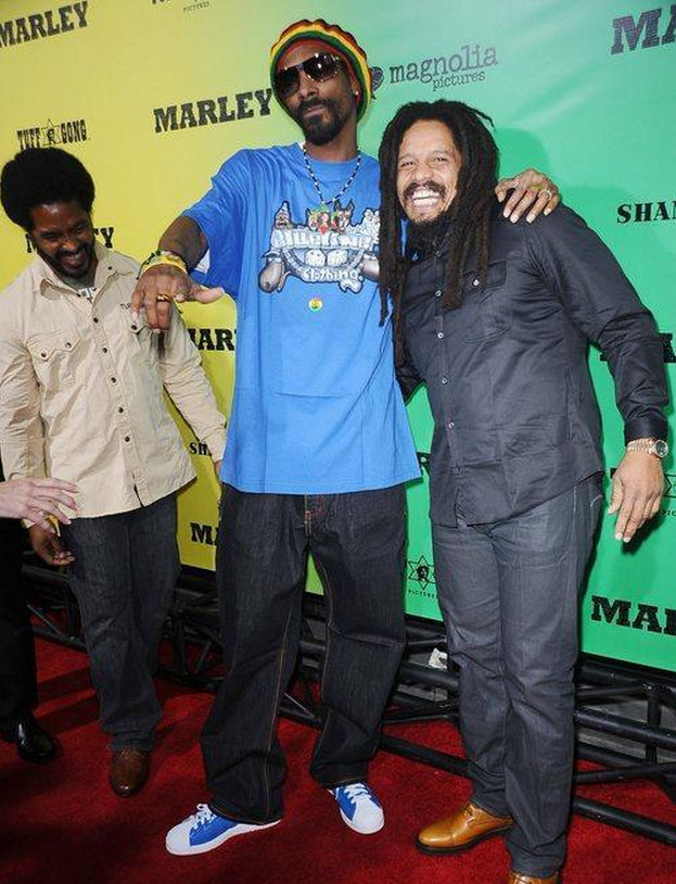 Rohan Marley and Snoop lion photo