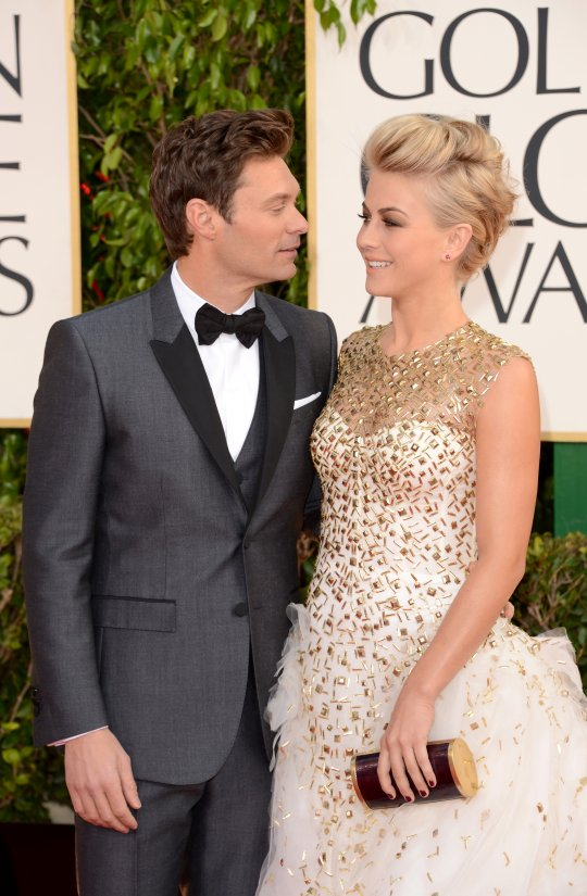 Ryan Seacrest Julianne Hough golden globe