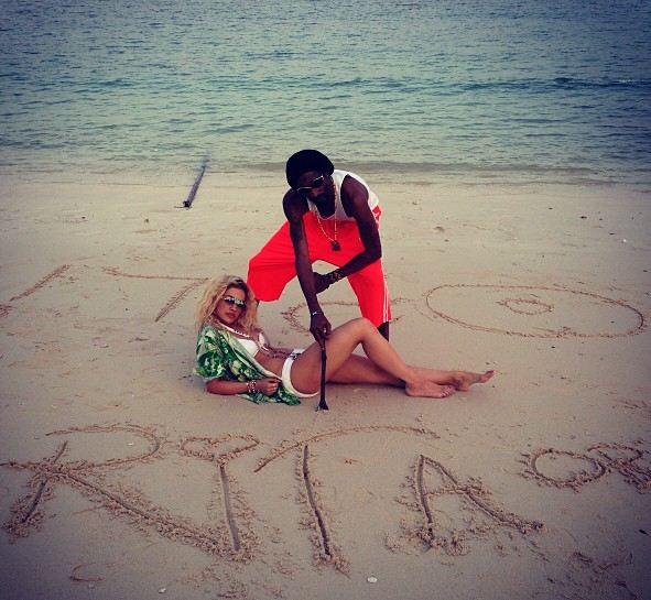 Snoop Lion Rita Ora video shoot