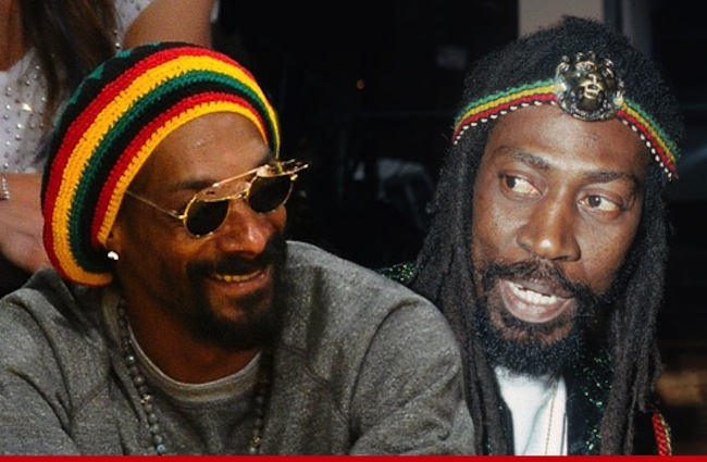 Snoop Lion and Bunny Wailer