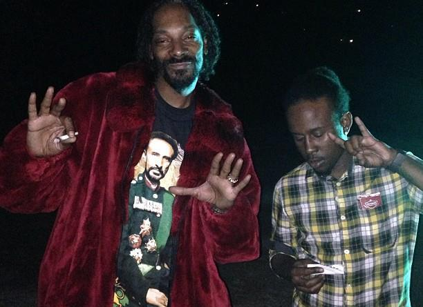 Snoop Lion and Popcaan
